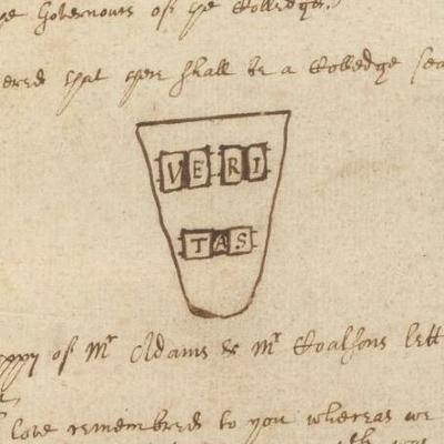 Archives By the Numbers: Veritas Crest, 1643