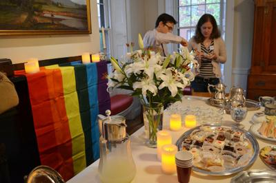 EqualiTEA Attendees Brave Hurricane Sandy